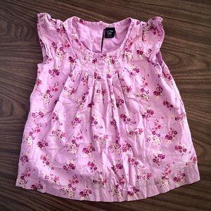 Gap Floral Shirt - 4T